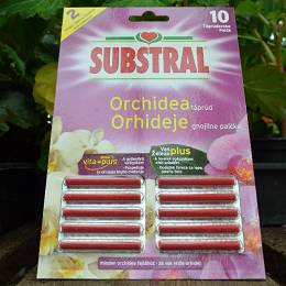 SUBSTRAL Orchideatáprúd 10 db-os